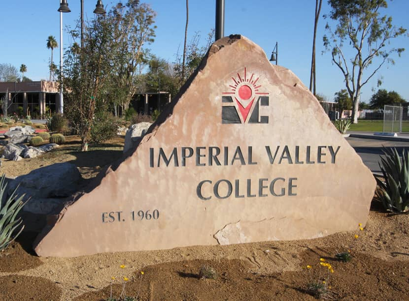 Exterior of Imperial Valley College branch