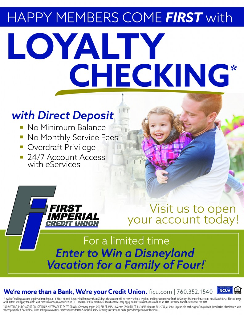 Happy Members Come First with Loyalty Checking
