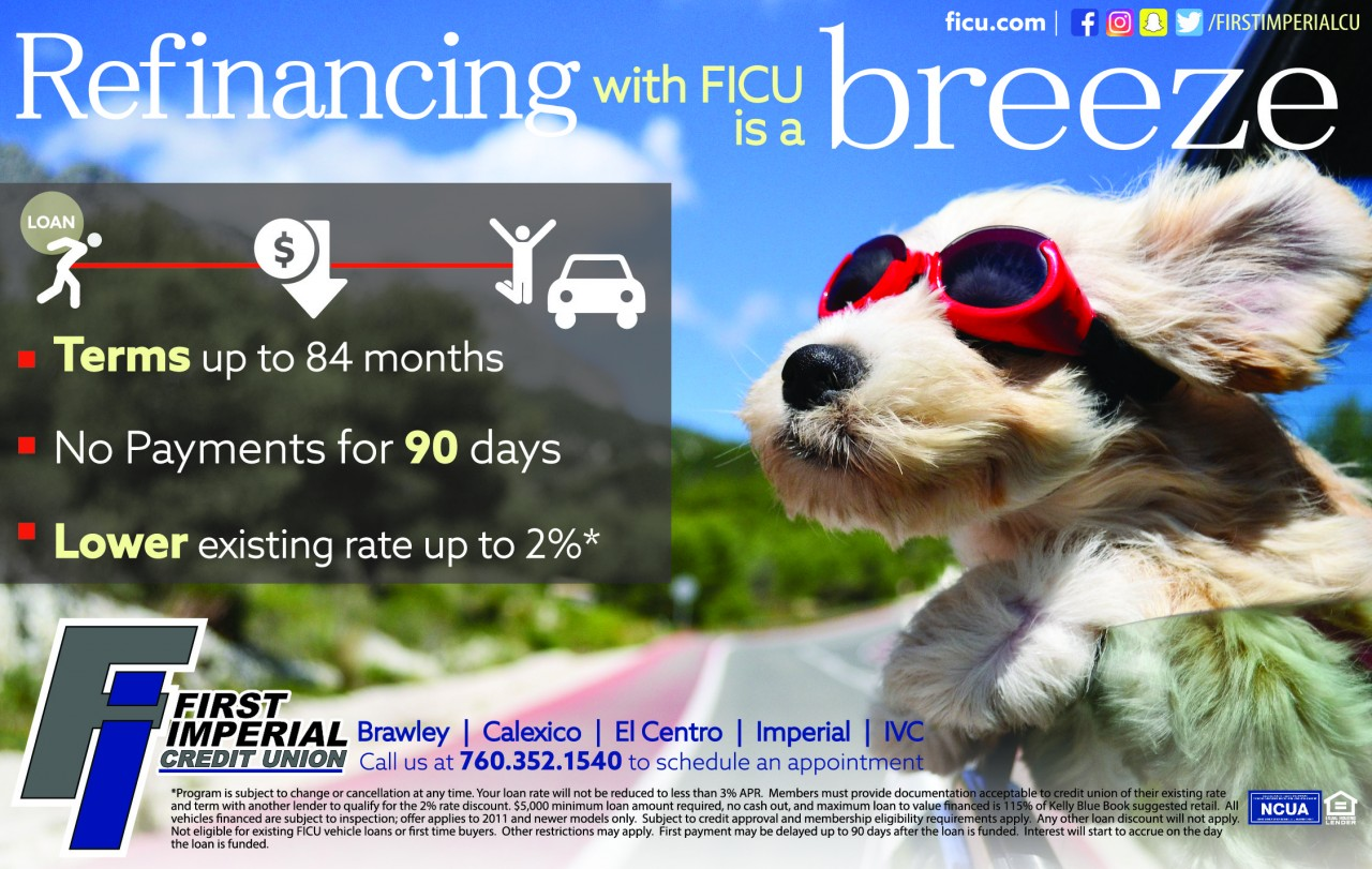 Auto refinancing with FICU is a breeze