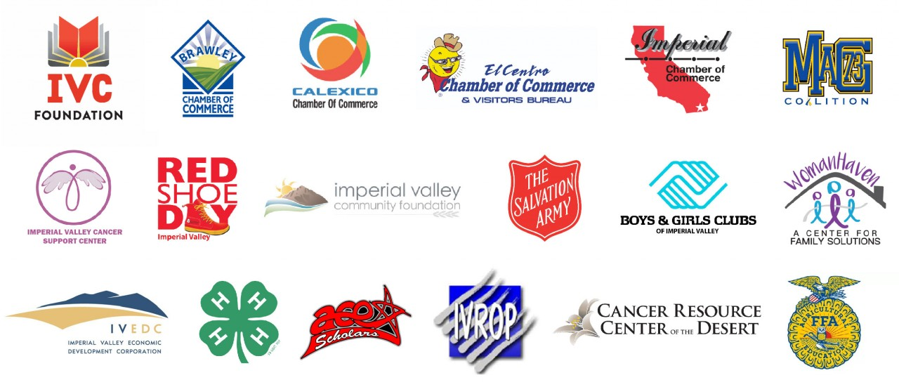 Non-profit and local organizations that FICU supports throughout the year.