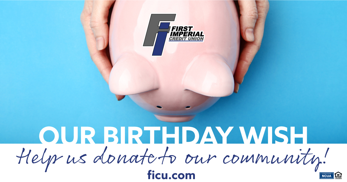 Our birthday wish is for you to help us donate to our community