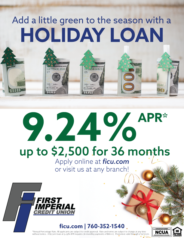 Christmas Loan Promotions.Promotions First Imperial Credit Union