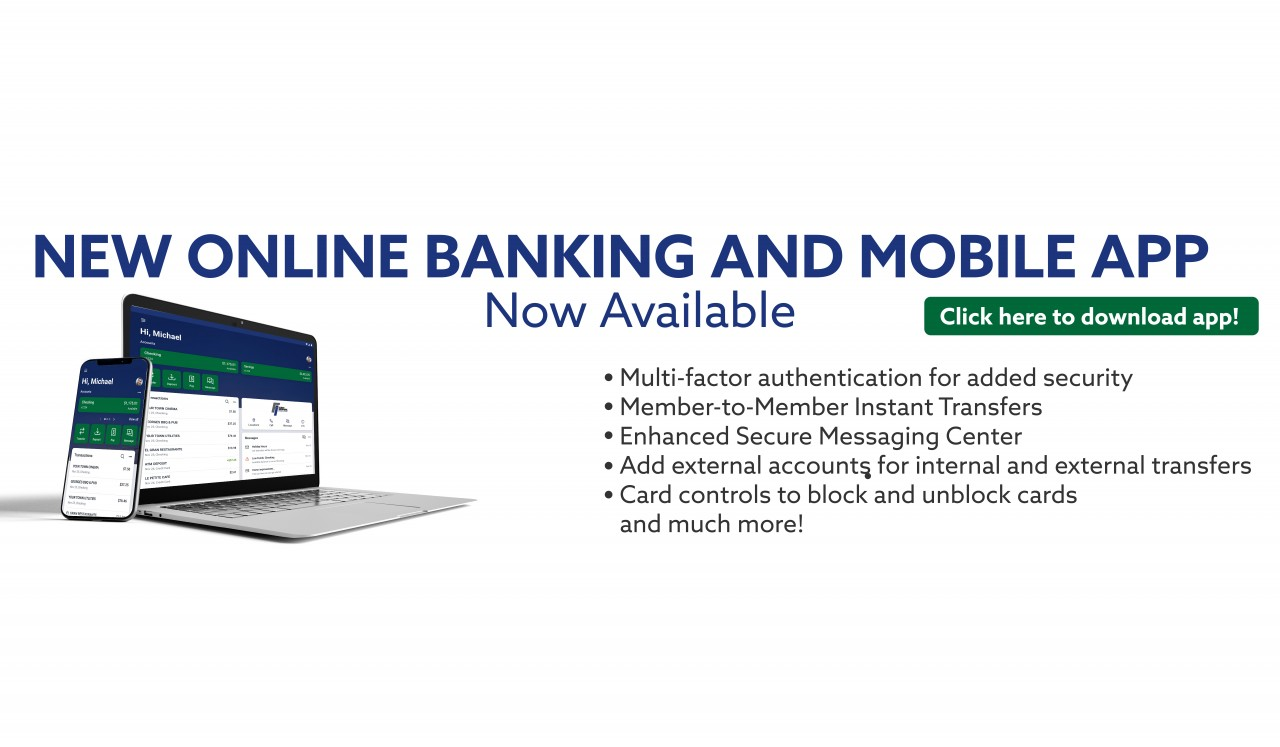 New Online Banking & Mobile App