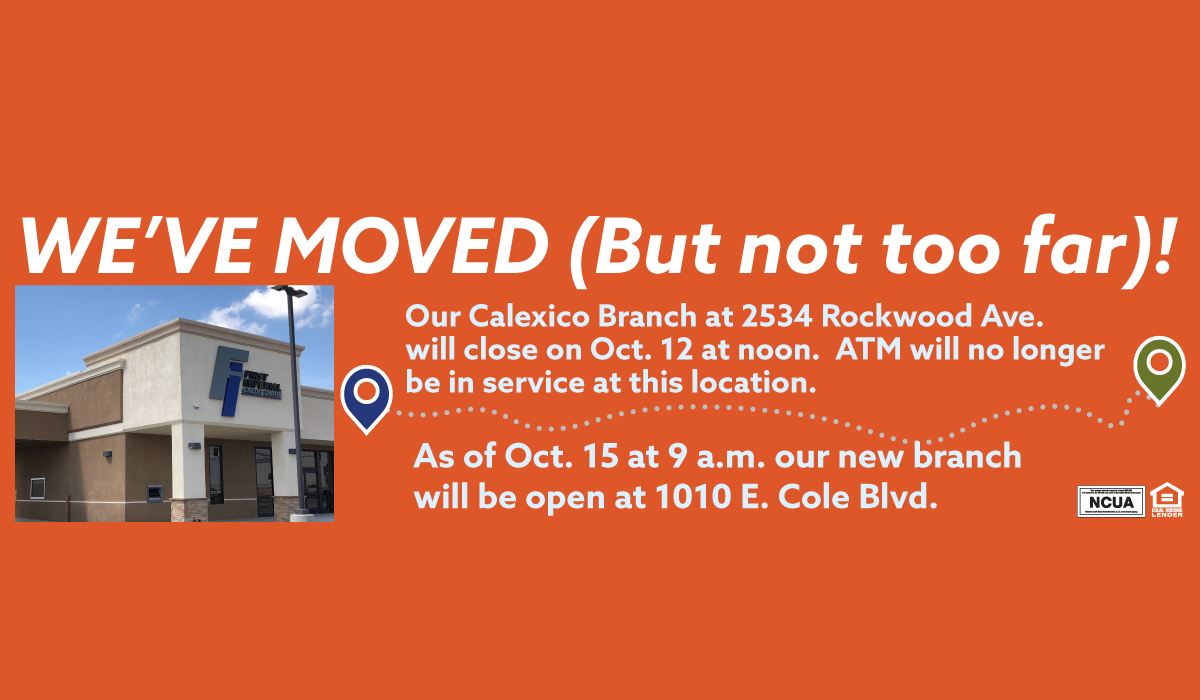 Calexico Branch Opening October 15
